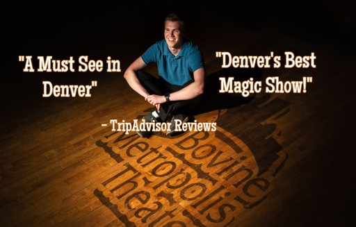 Scotty Wiese Presents 'Mile High Magic' - the Weekly Magic Show Every Sunday in Downtown Denver