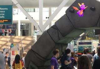 Spyro 'Hologram' at E3 2018 Uses Blended Matrix Hypervsn from TLC Creative