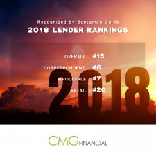 CMG Financial 2018 Scotsman Guide Top Lenders