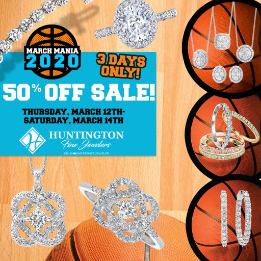 With a March Madness Event and a Le Vian Pop-Up Store Scheduled, It's a Busy Month at Huntington Fine Jewelers