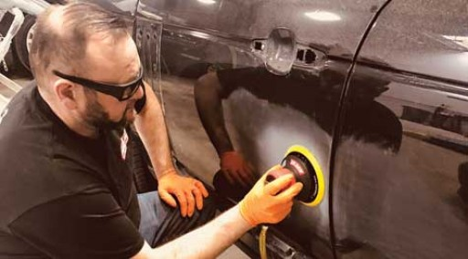 Autobody News: Body Shop Delivers Quality Repairs With Florida Pneumatics' AIRCAT Air Tools