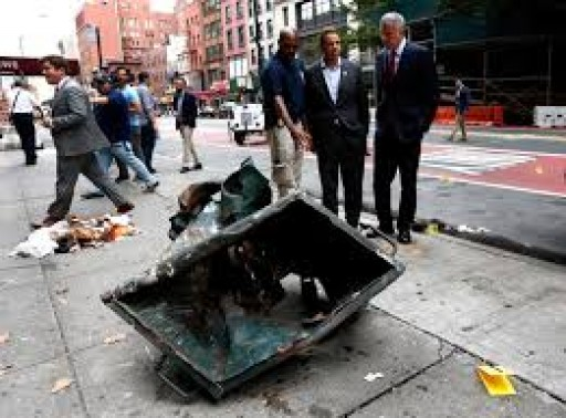 Terrorism Strikes New Yorkers After An Explosion Injures 29 In The Chelsea Section Of New York City