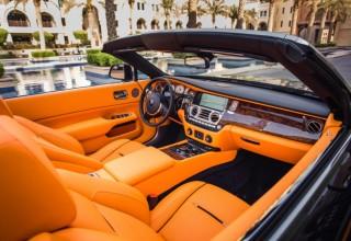 Rent Rolls Royce Dawn in Dubai, UAE