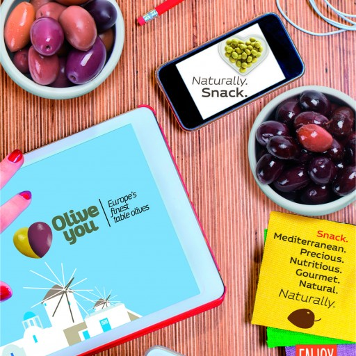 'Olive You' Campaign at Summer Fancy Food Show in New York