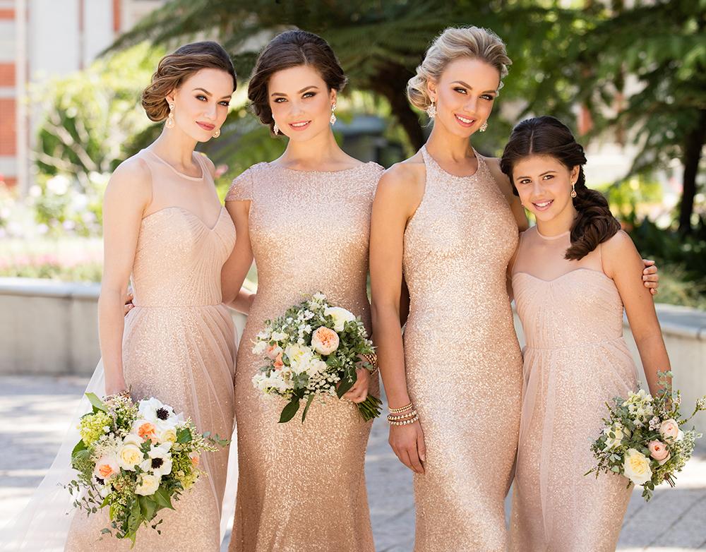 7d690dc0fd9 Sorella Vita Bridesmaid Dresses in Crimson Sequin Sorella Vita Tulle and Sequin  Bridesmaid Dresses ...