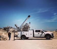 Auto Crane Work-Ready Trucks