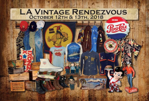 L.A. Vintage Rendezvous Vintage Clothing & Collectibles Debuts Oct. 12-13, 2018, at the Fairplex in Pomona, California