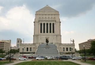 Indiana War Memorial Exterior