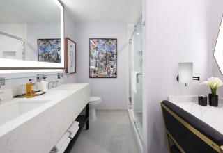 Montrose West Hollywood Guest Bathroom