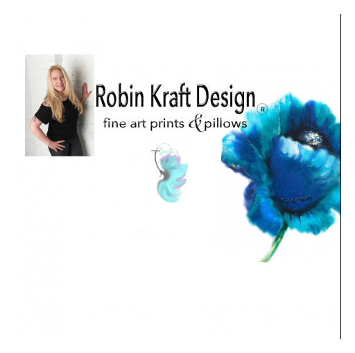 Robin Kraft Design Launches Its New Fine Art Collection