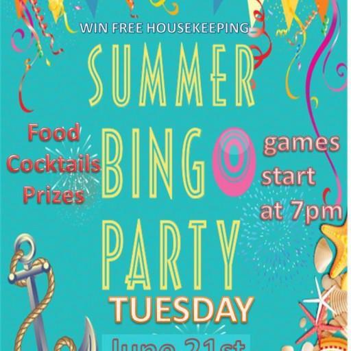 TENTEN Wilshire: Summer, Party, Rooftop...Bingo!