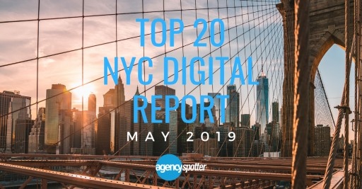 Top 20 New York Digital Agencies Report Released by Agency Spotter
