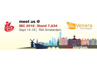 Catch Venera at IBC 2018