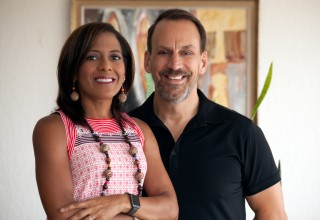 Conchie Fernández and David Craig of CF Creative