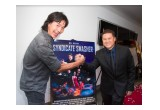 Noted actor Robin Shou and Benny Tjandra, the director and executive producer of Syndicate Smasher