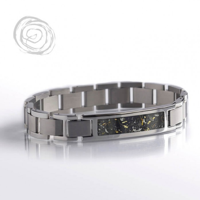 Yellow Gold Stardust Interchangeable Bracelet