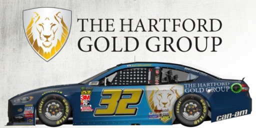 The Hartford Gold Group Joins Go Fas Racing and Matt DiBenedetto in Sonoma