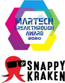 """Snappy Kraken Named """"Best Overall Content Marketing Company"""" for Second Consecutive Year in Annual MarTech Breakthrough Awards Program"""