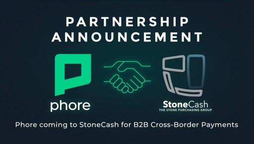 Phore Blockchain Announces Partnership With StoneCash Group for B2B Cross-Border Transactions