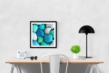 Ocean Water Modern Art Print