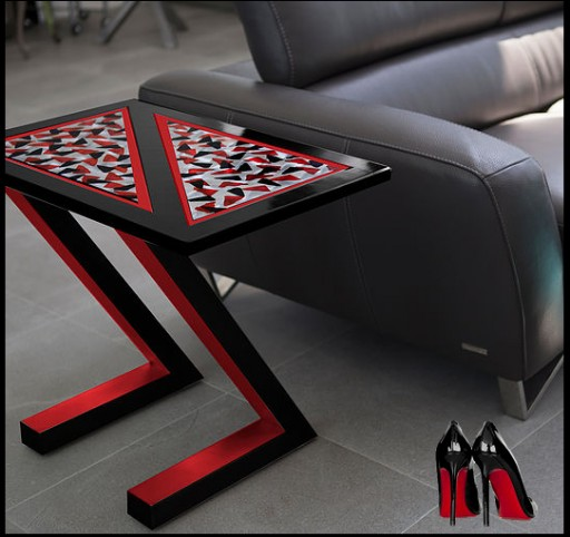 BB Giordano Serves Pop Art on a Table in a New Line of Functional Art
