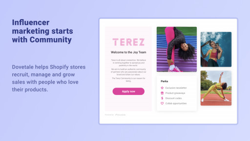 Dovetale for Shopify