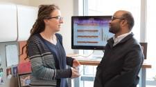 Gladstone scientists Katherine Pollard and Hassan Samee