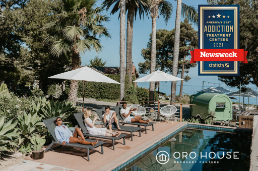 Oro House Recovery Centers Chosen as Best Addiction Treatment Center in California by Newsweek