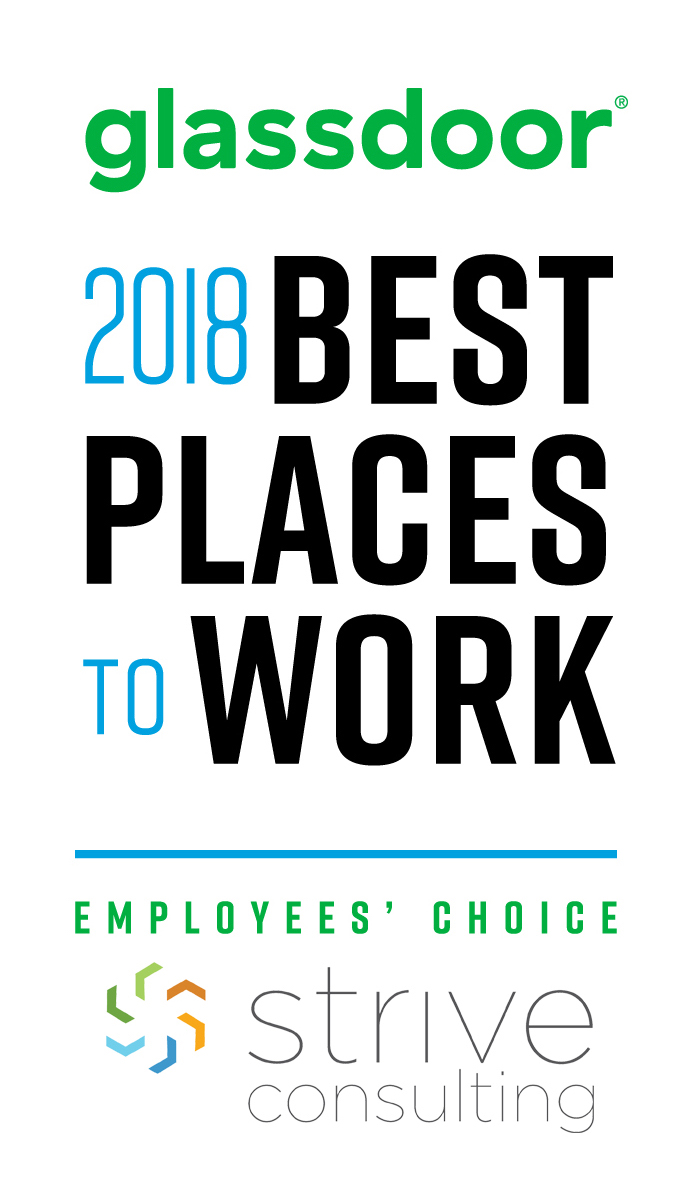 Strive Consulting Honored As One Of The Best Places To Work In 2018