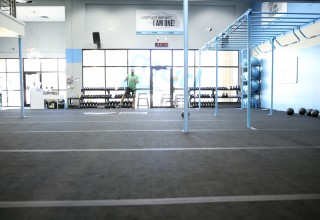 Burn Boot Camp's Signature Floating Floor