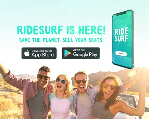 Ridesurf Launches Long-Distance and Event Carpooling App in California