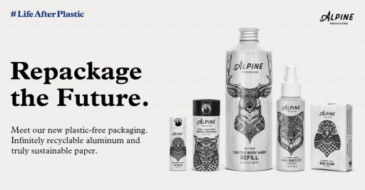 Plastic-Free Body Care Line Alpine Provisions Picked Up Nationwide by REI