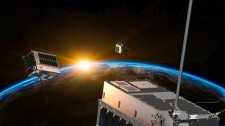 HawkEye 360's Cluster of Three Satellites in Orbit
