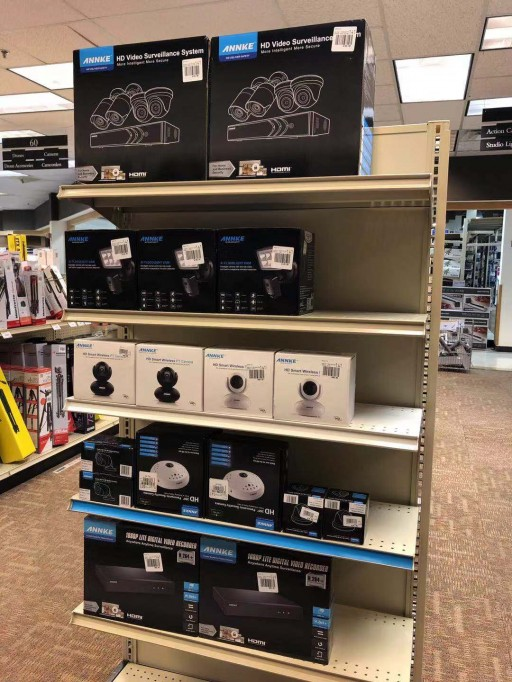 ANNKE is Now Available via Micro Center Offline Stores in US