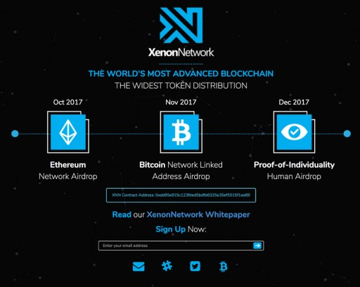 Massively Distributed EOS-Derived Blockchain XenonNetwork to Begin Token Distribution