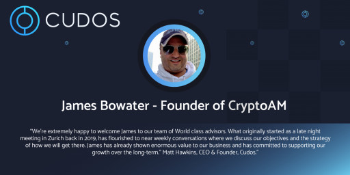 James Bowater Joins Cudos as Advisor
