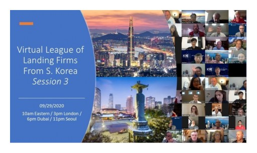South Korea's Most Promising Tech Startups Pitched at Special Virtual League of Landing Firms from S. Korea