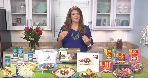 Sumptuous Living Founder Mandy Landefeld Shares Easy Meals Ideas With Tips on TV Blog