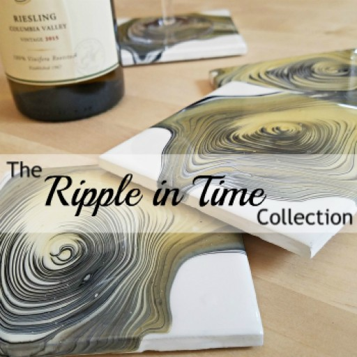 WendyWorkArt to Release New Ripple in Time Coaster Collection, a Twist on Your Average Home Decor.