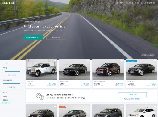 Clutch Brings To-Your-Door Test Drives and Transparency to the Used Car Market
