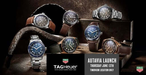Smyth Jewelers Brings Tag Heuer's Autavia Isograph Collection to Timonium Store