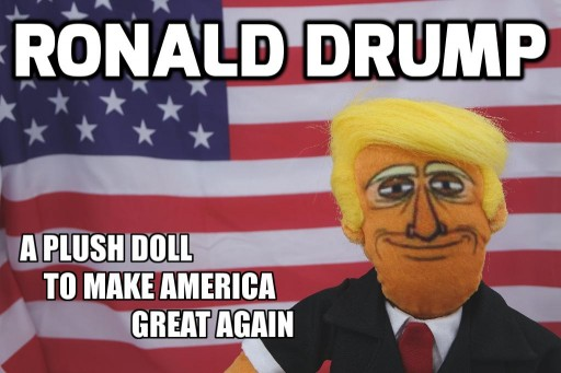 This Plush Doll on Kickstarter is Definitely NOT a Donald Trump Doll