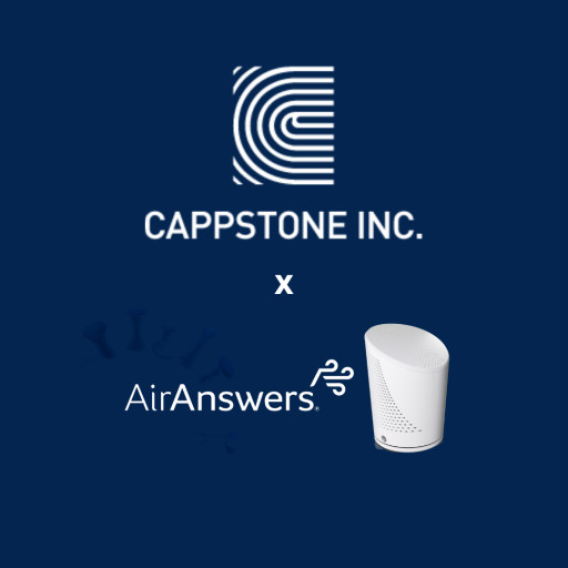 Cappstone Partnership With Inspirotec to Safeguard Against Indoor Airborne Threats, Including SARS-CoV-2