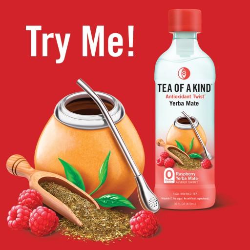 Tea of a Kind™ Launches Raspberry Yerba Mate