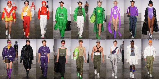 F/FFFFFF Debuted Spring/Summer 2019 Collection at New York Fashion Week