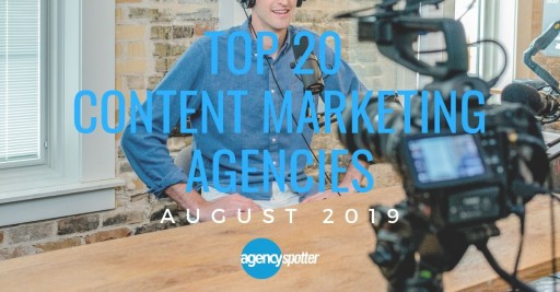 Agency Spotter Reveals the Top 20 Content Marketing Agencies Report