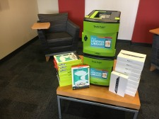 A Pads for Pēds iPad 'Lending Library'