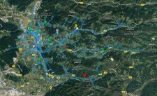 Traffic Light Visualization for the Slovenian MV demo area