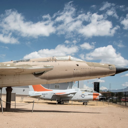 Ambitious Campaign to Restore Two Iconic Fighter-Bombers at the National Museum of Nuclear Science & History