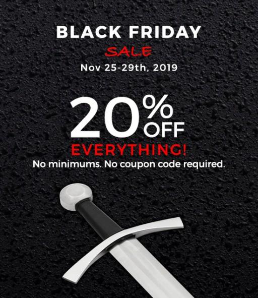 Atlanta Cutlery & Museum Replicas' Black Friday Sale